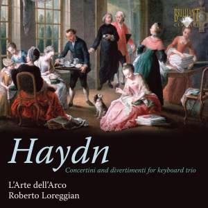 Haydn- Concertini And Divertimenti For Piano Trio