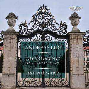 Andreas Lidl: Divertimenti for Baryton Trio Product Image