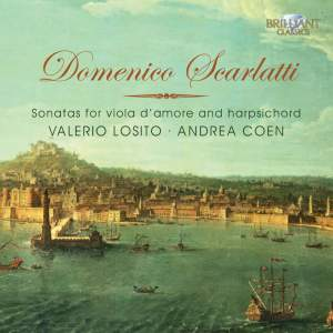 Domenico Scarlatti: Sonatas for Viola d'Amore and Harpsichord