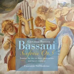Bassani, G B: Sinfonie (12), Op. 5