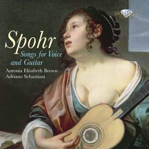 Spohr: Songs for Voice & Guitar