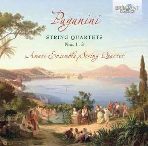 Paganini: String Quartets (3), MS 20