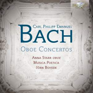 CPE Bach: Oboe Concertos Product Image