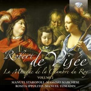 Robert de Visée: Musique de la Chamber du Roy Volume 2
