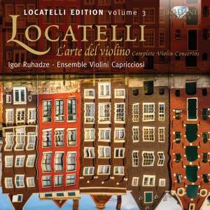Locatelli Edition Volume 3: L'arte del violin