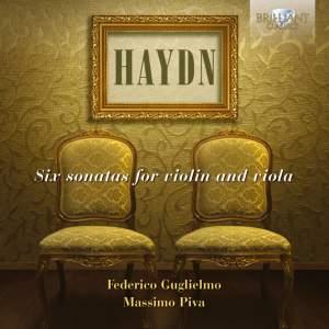 Haydn: 6 Sonatas for Violin and Viola HobVI