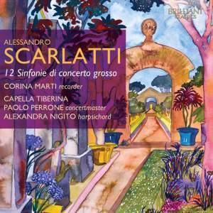 Scarlatti, A: Sinfonie (12) di concerto grosso