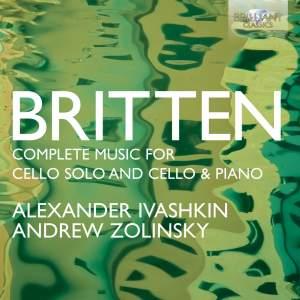 Britten: Complete Music for Cello Solo and Cello & Piano Product Image