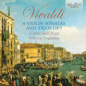 Vivaldi: Sonatas (6) for one or two violins, Op. 5
