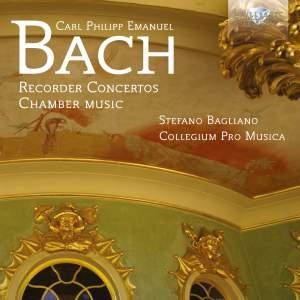 CPE Bach: Recorder Concertos