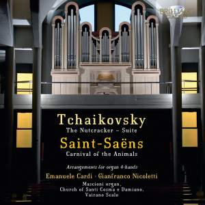Tchaikovsky & Saint‐Saëns: Arrangements for Organ 4‐Hands