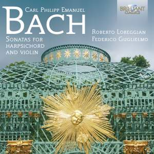 CPE Bach: Sonatas for violin and harpsichord