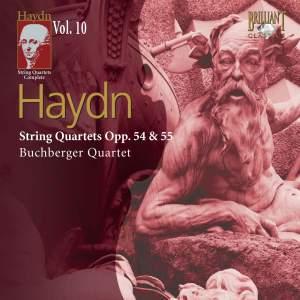 Haydn: String Quartets, Opp. 54-55