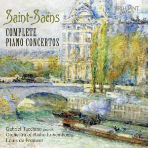Saint-Saëns: Piano Concertos Nos. 1-5