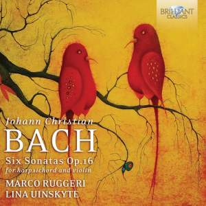 Bach, J C: Sonatas (6), Op. 16