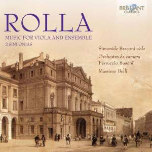 Rolla: Music for Viola and Ensemble Product Image