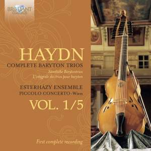 Haydn: Baryton Trios Nos. 1-31