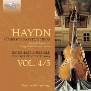 Haydn: Baryton Trios Nos. 88-117