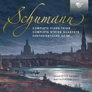Schumann: Complete Piano Trios, Complete String Quartets & Fantasiestücke Op. 88