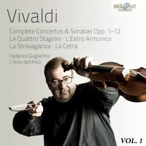 Vivaldi: Complete Concertos & Sonatas Op. 1‐12