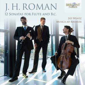 Roman: 12 Sonatas for flute and continuo