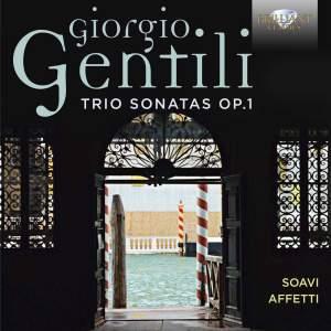 Gentili, G: Trio Sonatas (12), Op. 1