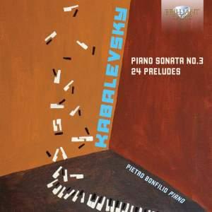 Kabalevsky: Piano Sonata No.3 & 24 Preludes