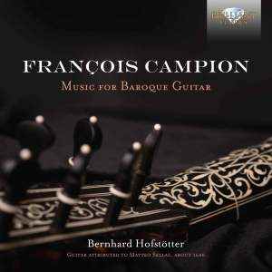 Campion: Music For Baroque Guitar