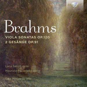 Brahms: Viola Sonatas & 2 Gesange Op. 91