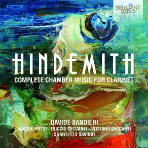 Hindemith: Complete Chamber Music for Clarinet Product Image