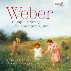 Weber: Complete Songs for Voice and Guitar Product Image
