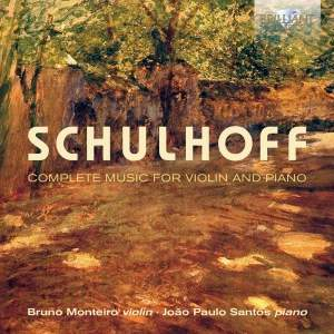 Schulhoff: Complete Music for Violin and Piano