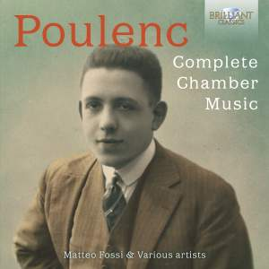 Poulenc: Complete Chamber Music Product Image