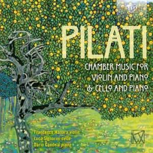 Pilati: Chamber Music For Violin, Cello & Piano Product Image