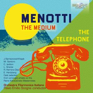 Menotti: The Medium & The Telephone Product Image