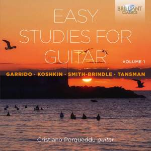 Easy Studies For Guitar Vol. 1