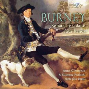 Charles Burney: Sonatas For Four Hands