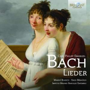 CPE Bach: Lieder