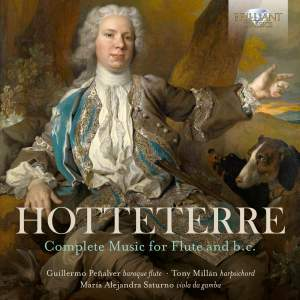 Hotteterre: Complete Music For Flute And B.C. Product Image