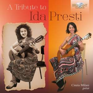 A Tribute To Ida Presti: Music For Solo Guitar Product Image