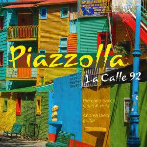 Piazzolla: La Calle 92 Product Image