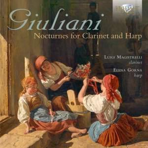 Giuliani, G F: Nocturnes (12) for Clarinet and Harp