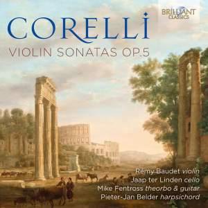 Corelli: Violin Sonatas, Op. 5 Product Image