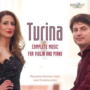 Turina: Complete Music for Violin and Piano Product Image