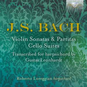 JS Bach: Violin Sonatas & Partitas & Cello Suites Product Image