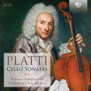 Platti: Cello Sonatas Product Image