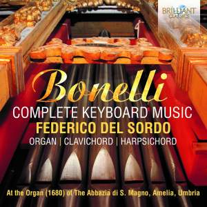 Bonelli: Complete Keyboard Music Product Image
