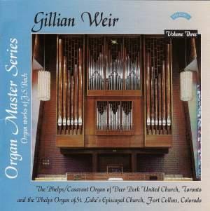 Gillian Weir: Organ Master Series, Volume 3