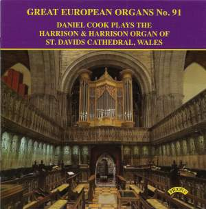 Great European Organs No. 91: Harrison & Harrison Organ of St David's Cathedral, Wales