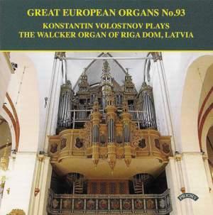 Great European Organs Vol. 93: Walcker Organ of Riga Dom, Latvia